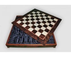 Box Wood / Шахматное Поле-Бокс С Местом Для Укладки Шахмат CD64G