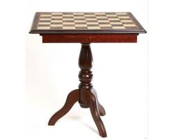 Scacchiera-Table, Box / Шахматное Поле Стол, Бокс С Местом Для Укладки Шахмат T13