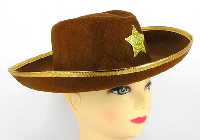 "Шляпа ""Шериф"" детская"