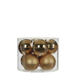 Елочные шарики House of Seasons комплект 8 шт, цвет шампань