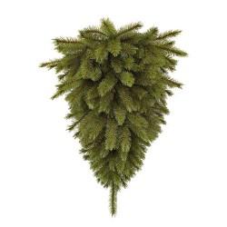 Сосна 90 см перевернутая Forest frosted с инеем