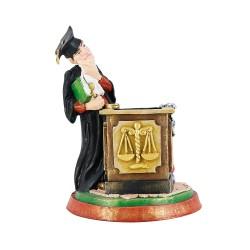 Статуэтка Судья – карандашница 24 см