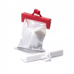 Клипсы для пакетов Clipurse Peleg Design Красный / Белый