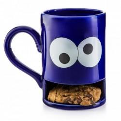 Чашка с отделением для печенья Monster Cookie Cup Donkey Синяя