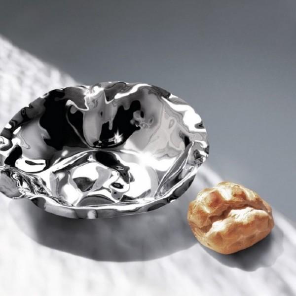 Фруктовница, ваза для фруктов Sarria Alessi Полированная сталь