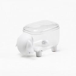 Контейнер Sheepshape Container Junior Qualy Прозрачный / Белый