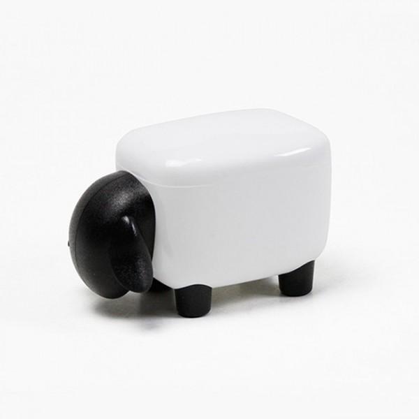 Контейнер Sheepshape Container Junior Qualy Белый / Черный