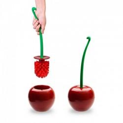 Ершик туалетный Cherry Qualy Красный