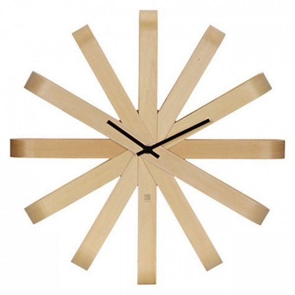 Настенные часы Ribbonwood Umbra Natural