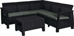 Набор мебели, Bahamas Relax, коричневый - серо-бежевый
