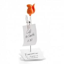 Держатель для записок Note Squirrel Qualy Оранжевый
