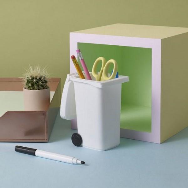 Органайзер для ручек и карандашей Wheelie Bin Desk Tidy DIY Luckies