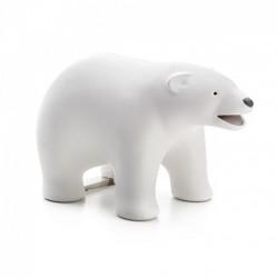 Диспенсер для скотча и скрепок Polar Bear Qualy Белый
