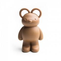 Ножницы и держатель для скрепок Teddy Bear Qualy Коричневый