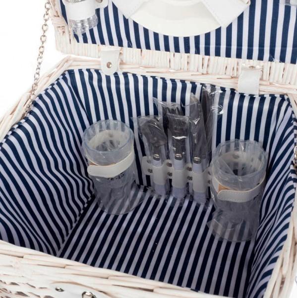 Корзинка для пикника на 2 персоны Ларец (30*24*25 см)