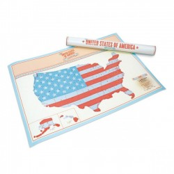 Скретч карта США Scratch Map USA Edition Luckies