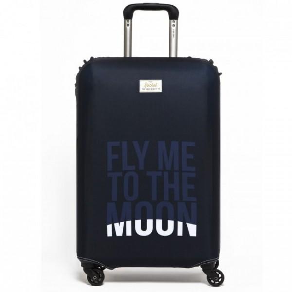 Чехол для чемодана Fly Me to the Moon Rocket Design