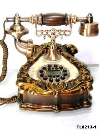 Телефон ретро Сердце