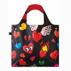 Сумка для покупок складная POP Hearts LOQI