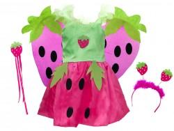 Детский карнавальный костюм Клубничка