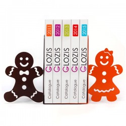 Упоры для книг Glozis Gingerbread