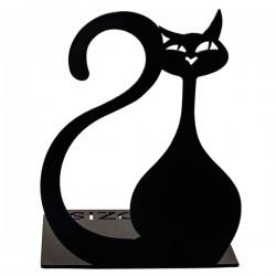 Упор для книг Glozis Black Cat