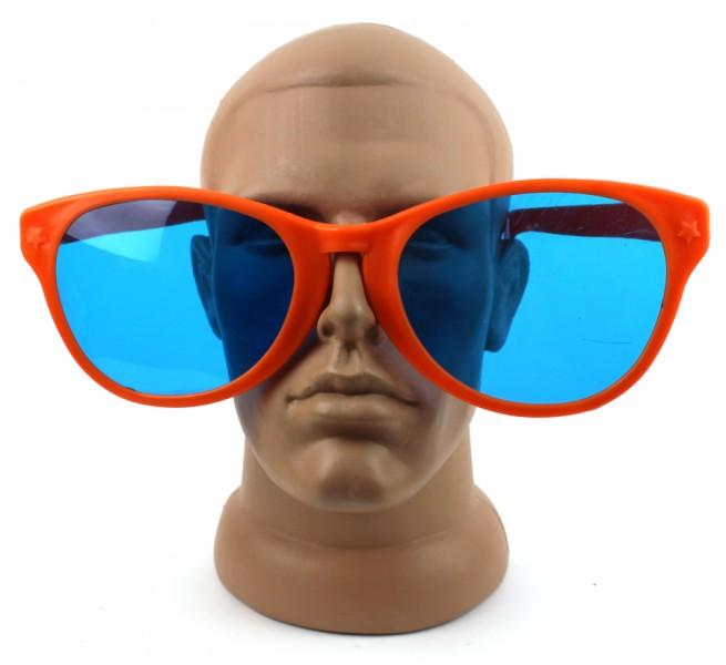 Очки веселые гигант Рей Бен оранжевые