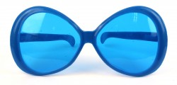 Очки для вечеринки гигант синие