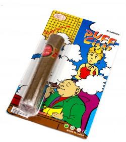 Сигара дымящаяся