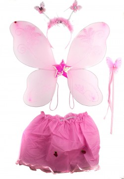 Костюм Бабочки розовый