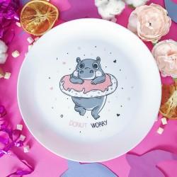 Тарелка Donut Worry