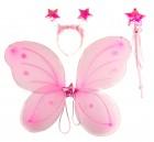 Набор Бабочки Звездочка розовый
