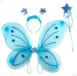 Набор Бабочки Звездочка голубой