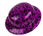 Шляпа котелок с принтом