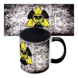 Прикольная чашка Радиация II