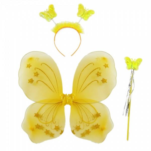 Набор Бабочки желтый