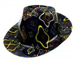 Шляпа Мужская пластик с принтом