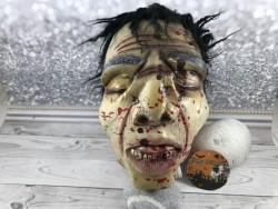 Декор для Хэллоуина Силиконовая голова