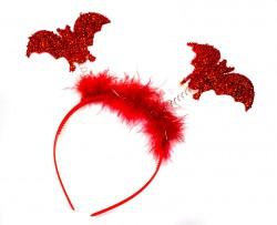 Обруч Летучая мышь красные