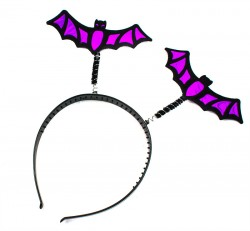 Обруч Летучая мышь фиолетовые