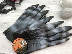 Перчатки резиновые Монстр