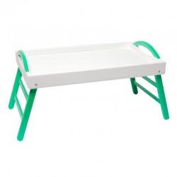Столик Бело-зеленый