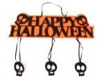 Декор вывеска Хэллоуин с черепками