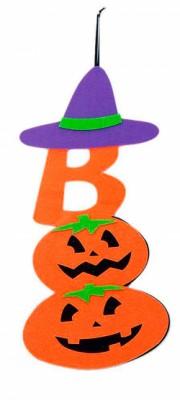 Декор на Halloween оранжевый
