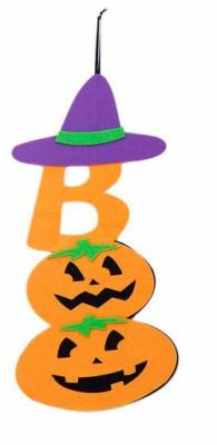Декор на Halloween желтый
