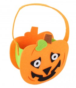 Кашпо для конфет Хэллоуинская тыквочка