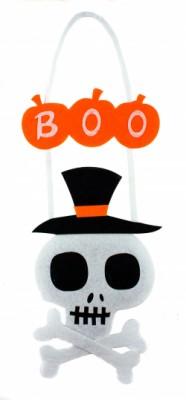 Декоративный череп на Halloween