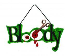 Кровавый декор на Halloween