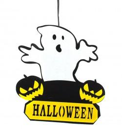 Декоративная вывеска Привидение Halloween