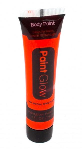 Грим флуоресцентный оранжевый